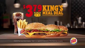 Burger King $3.79 King's Meal Deal TV Spot, 'Pick Any Two' - Thumbnail 2