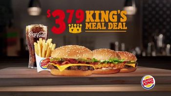 Burger King $3.79 King's Meal Deal TV Spot, 'Pick Any Two'