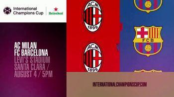 International Champions Cup TV Spot, 'Collide: AC Milan vs. FC Barcelona' - Thumbnail 8