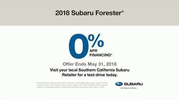 2018 Subaru Forester TV Spot, 'Peace of Mind' [T2] - Thumbnail 8