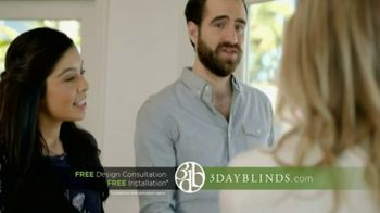 3 Day Blinds TV Spot, 'Free Installation'