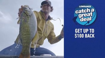 Lowrance Catch a Great Deal TV Spot, 'Find and Catch More Fish'