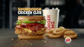 Burger King Sourdough Chicken Club TV Spot, 'A New Club in Town' - Thumbnail 8