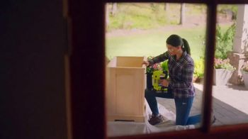 The Home Depot Ryobi Days TV Spot, 'Over 100 Tools' - Thumbnail 5
