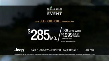 Jeep Spring Sales Event TV Spot, 'Dial' Song by The Score [T2] - Thumbnail 5
