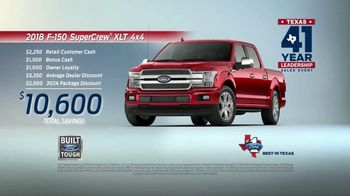 Ford Texas 41 Year Leadership Sales Event TV Spot, '2018 F-150 STX' [T2] - Thumbnail 8