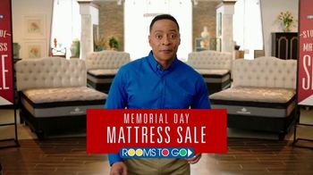 Rooms to Go Memorial Day Mattress Sale TV Spot, 'Twins'
