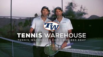Tennis Warehouse TV Spot, 'Shop Where the Bryan Brothers Shop' - 50 commercial airings