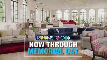 Rooms to Go TV Spot, 'Memorial Day: Cindy Crawford Home'