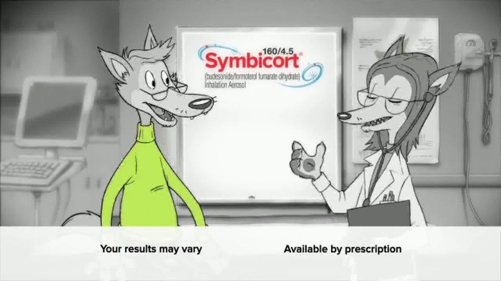 Symbicort TV Spot, Wolf: Huffed and Puffed - Screenshot 4