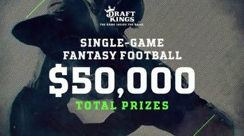 DraftKings TV Spot, '$50,000 Contest' - 1 commercial airings