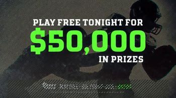 DraftKings TV Spot, '$50,000 Contest' - Thumbnail 7