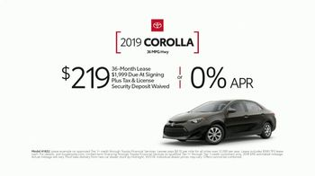 2019 Toyota Corolla TV Spot, 'Perfect Timing' [T2] - Thumbnail 5