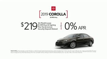 2019 Toyota Corolla TV Spot, 'Perfect Timing' [T2] - Thumbnail 8