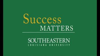 Southeastern Louisiana University TV Spot, 'Success Matters' - Thumbnail 2