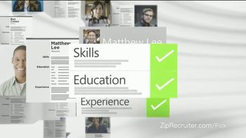 ZipRecruiter TV Spot, 'The Wrong Resumes' - Thumbnail 5