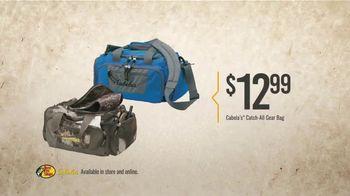 Bass Pro Shops Gear Up Sale TV Spot, 'Gear Bag, Hoodie and GPS' - Thumbnail 3