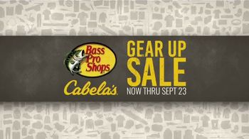 Bass Pro Shops Gear Up Sale TV Spot, \'Gear Bag, Hoodie and GPS\'