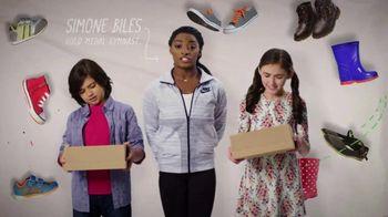 Mattress Firm Foster Kids TV Spot 'Shoe Drive' Featuring Simone Biles - Thumbnail 2