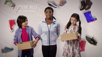 Mattress Firm Foster Kids TV Spot 'Shoe Drive' Featuring Simone Biles - Thumbnail 3
