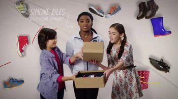 Mattress Firm Foster Kids TV Spot 'Shoe Drive' Featuring Simone Biles - Thumbnail 4