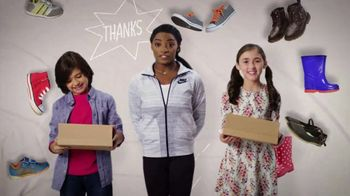Mattress Firm Foster Kids TV Spot 'Shoe Drive' Featuring Simone Biles