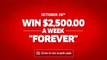 Publishers Clearing House TV Spot, '$2,500 a Week Forever: Happening' - Thumbnail 9