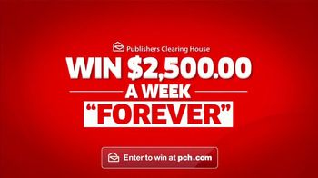 Publishers Clearing House TV Spot, '$2,500 a Week Forever: Happening' - Thumbnail 3