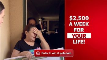 Publishers Clearing House TV Spot, '$2,500 a Week Forever: Happening' - Thumbnail 5