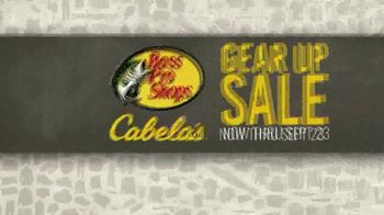 Bass Pro Shops Gear Up Sale TV Spot, 'Logo Caps, Crocs and Game Camera' - Thumbnail 1