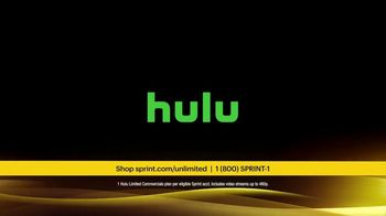 Sprint Unlimited Basic TV Spot, 'Rooftop: Hulu' - Thumbnail 6