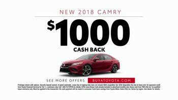 2018 Toyota Camry TV Spot, 'Blimp' Featuring Eli Manning [T2] - Thumbnail 10