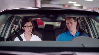 2018 Toyota Camry TV Spot, 'Blimp' Featuring Eli Manning [T2] - Thumbnail 2