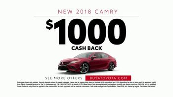 2018 Toyota Camry TV Spot, 'Blimp' Featuring Eli Manning [T2] - Thumbnail 9