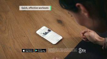 8fit App TV Spot, 'Comfortable and Confident' - Thumbnail 4