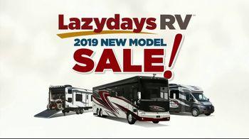 Lazydays RV 2019 New Model Sale TV Spot, 'Nation's Largest Selection'