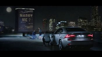 Lexus IS TV Spot, 'The Engagement' Song by The Everyday Visuals [T1] - 1647 commercial airings