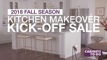 Cabinets To Go Kitchen Makeover Kick-Off Sale TV Spot, 'Summer Is Over'