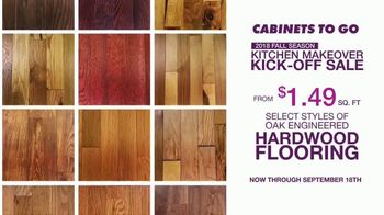 Cabinets To Go Kitchen Makeover Kick-Off Sale TV Spot, 'Summer Is Over' - Thumbnail 4