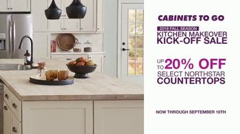 Cabinets To Go Kitchen Makeover Kick-Off Sale TV Spot, 'Summer Is Over' - Thumbnail 5