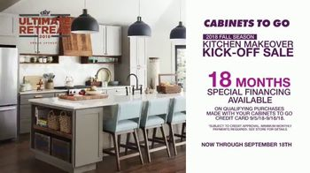 Cabinets To Go Kitchen Makeover Kick-Off Sale TV Spot, 'Summer Is Over' - Thumbnail 6
