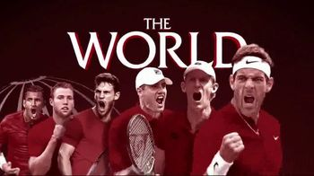 2018 Laver Cup TV Spot, 'Europe vs. the World' - 26 commercial airings