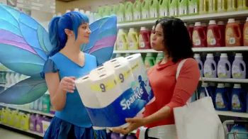 Sparkle Towels TV Spot, 'Fancy Paper Clip' - Thumbnail 9