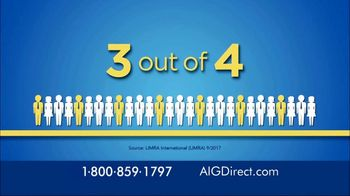 AIG Direct Life Insurance TV Spot, 'Important Message' - Thumbnail 1