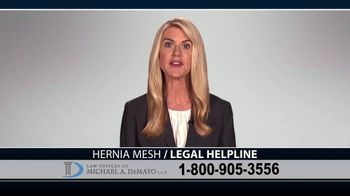 Law Offices of Michael A. DeMayo TV Spot, 'Hernia Mesh Complications' - Thumbnail 7
