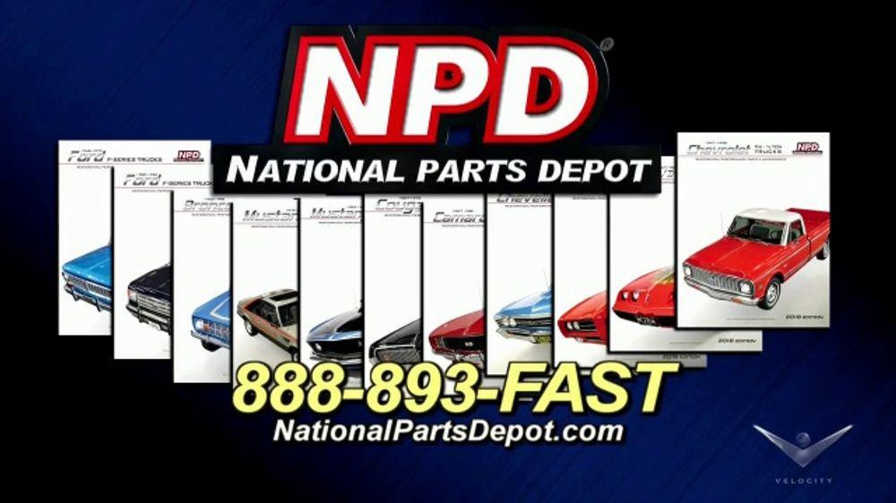 National Parts Depot >> National Parts Depot Tv Commercial Restoration Parts Supplier Video