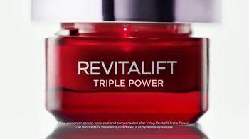 L'Oreal Paris Revitalift Triple Power TV Spot, 'One Week' - Thumbnail 5