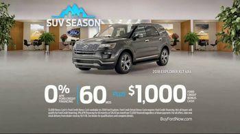 Ford SUV Season TV Spot, 'Highest Owner Loyalty' [T2] - Thumbnail 9