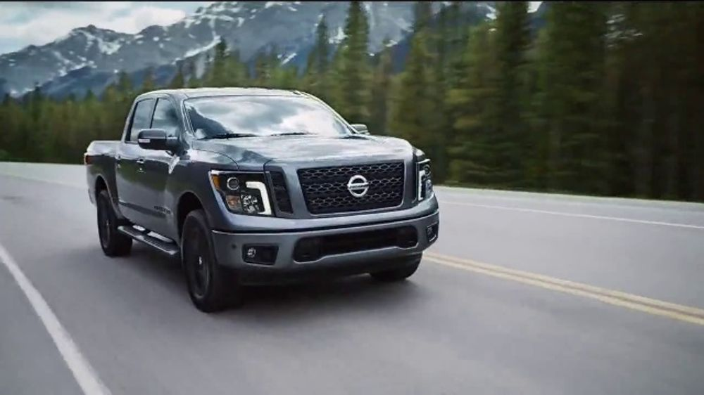 Where Is Nissan Made >> Nissan Take Home A Titan Truck Month Tv Commercial Made In America