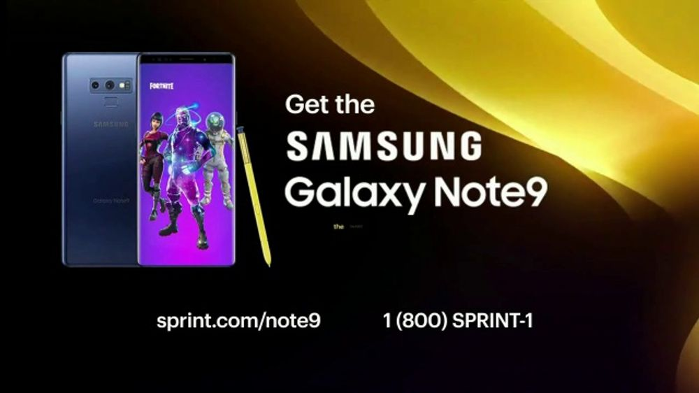 Sprint Flex TV Commercial, 'Samsung Galaxy Note9: Gaming' - Video